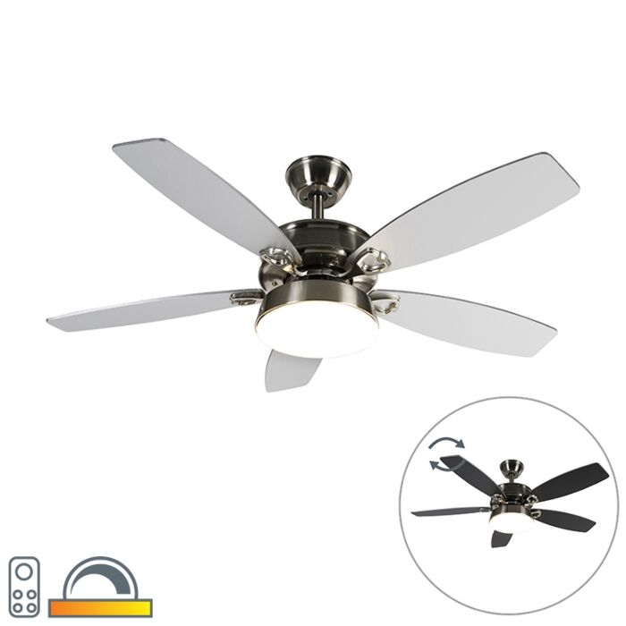 Stropni-ventilator-čelik-s-daljinskim-upravljačem-uključujući-LED---Malaki