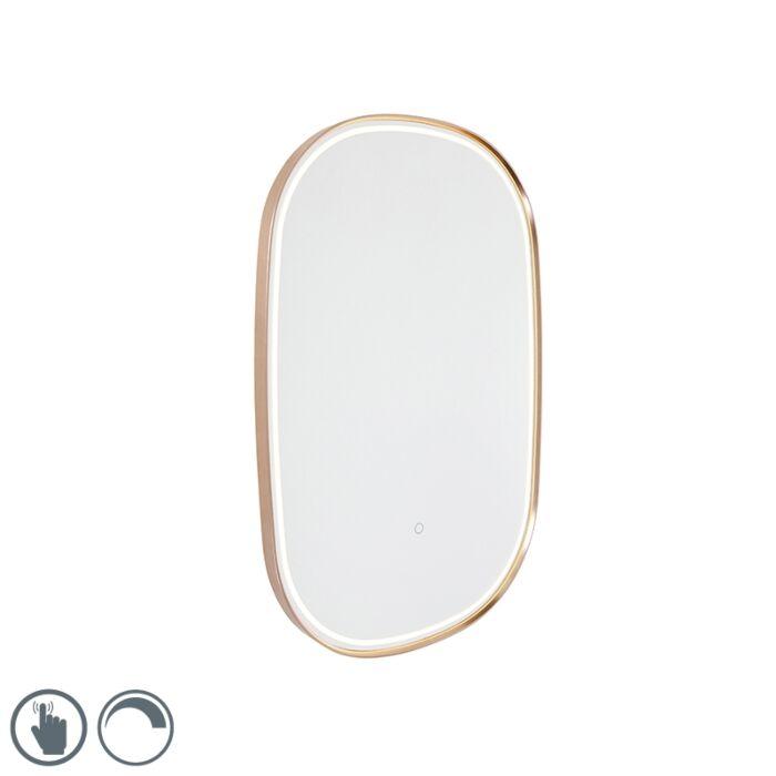 Kupaonsko-ogledalo-za-kupaonicu-s-LED-diodom-s-ovalnim-zatamnjivačem-na-dodir---Miral