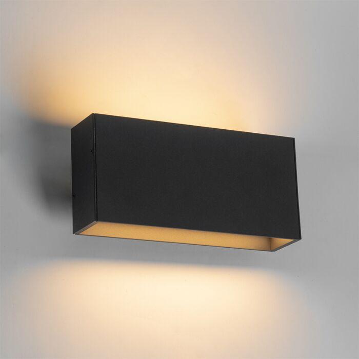 Moderna-zidna-svjetiljka-antracit-sa-LED-IP54---Spector