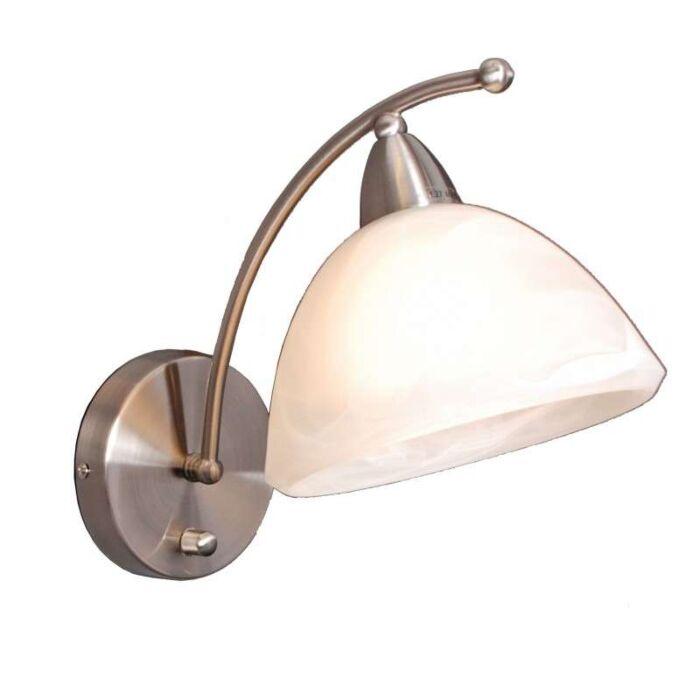 Zidna-svjetiljka-Firenze-čelik