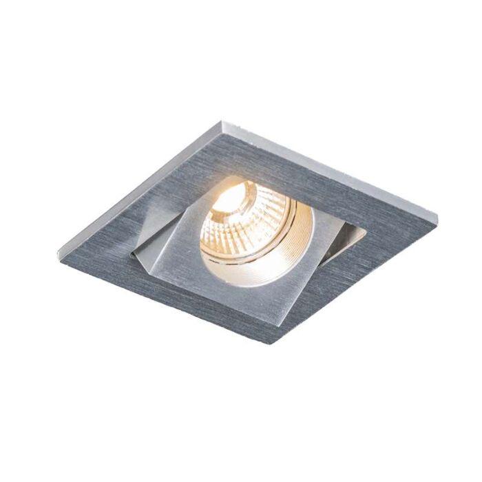 Ugradna-spot-Quale-četvrtasta-aluminijska-LED-dioda