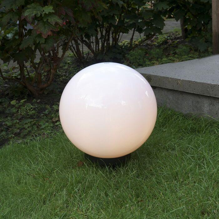 Moderna-vanjska-svjetiljka-s-prizemnim-šiljkom-30-cm-IP44---Kugla