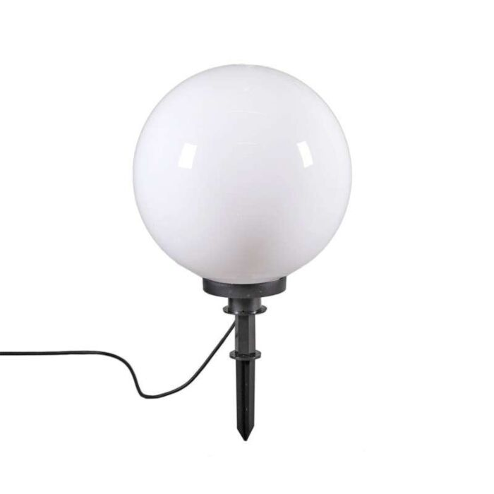 Moderna-vanjska-svjetiljka-s-prizemnim-šiljkom-40-cm-IP44---Kugla