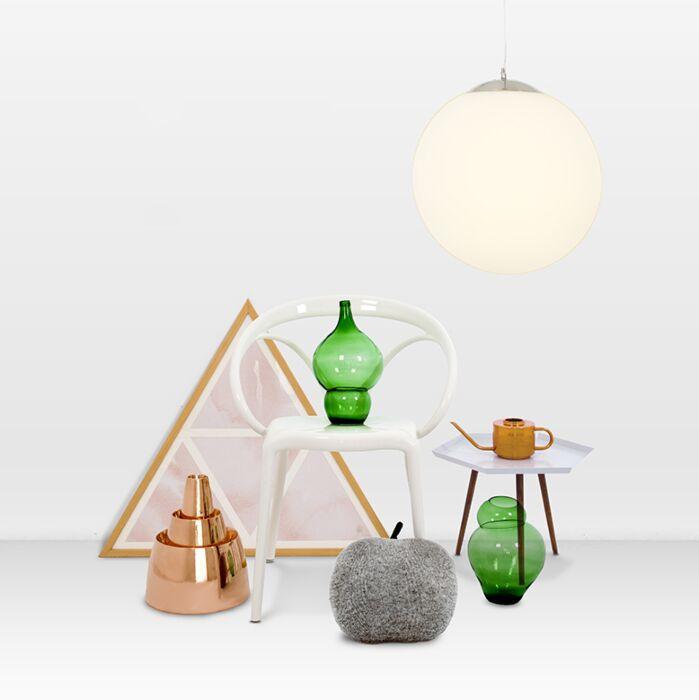 Moderna-viseća-svjetiljka-staklo-40cm---Lopta