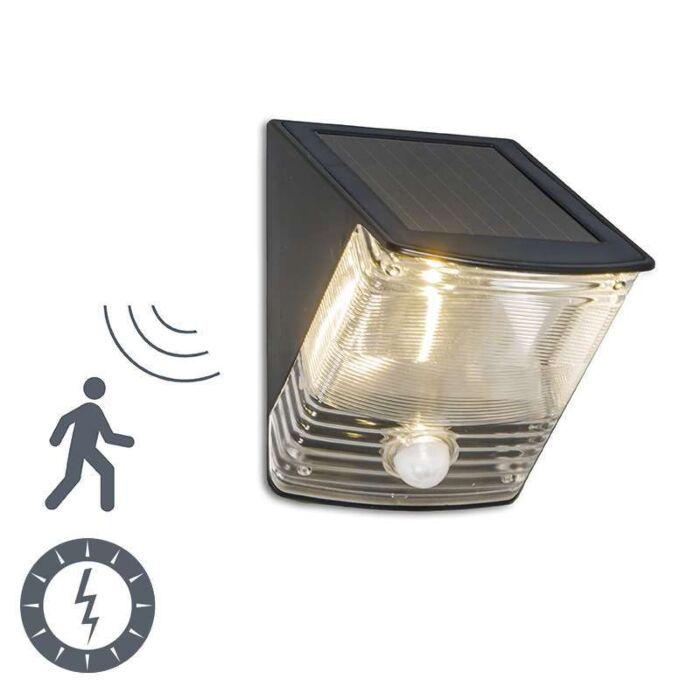 Vanjska-svjetiljka-Tamna-LED-sa-solarnim-detektorom-pokreta