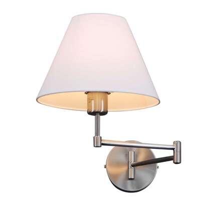 Zidna-svjetiljka-Ljuljačka-od-čelika-s-hladom