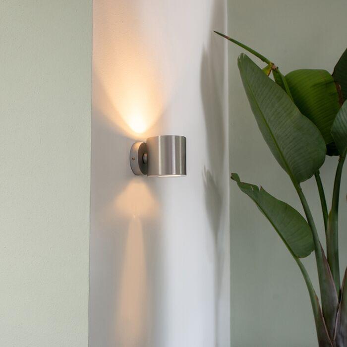 Moderna-zidna-svjetiljka-aluminijska-okrugla---Učinak