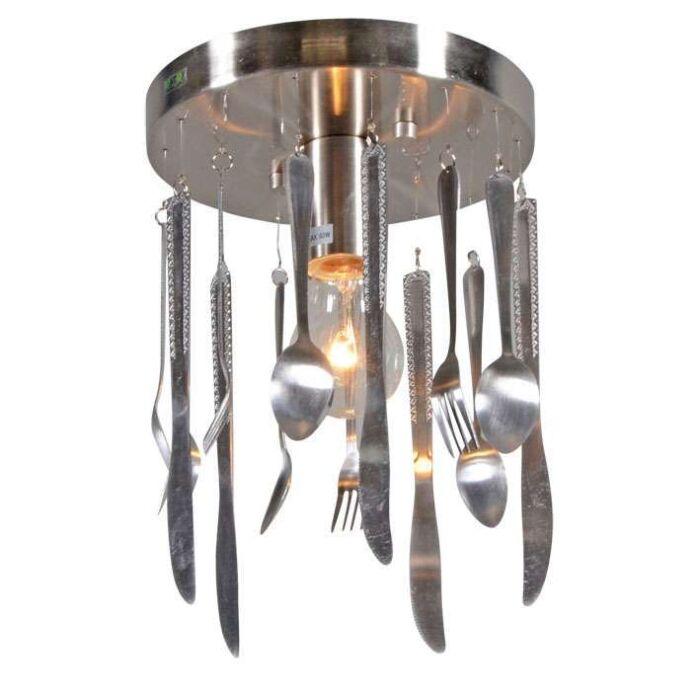 Stropna-svjetiljka-Kuhinja-čelik