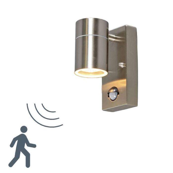 Solo-vanjska-zidna-svjetiljka-čelik-PIR