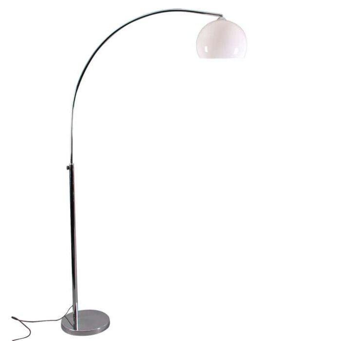 Mala-kromirana-svjetiljka-s-bijelim-hladom