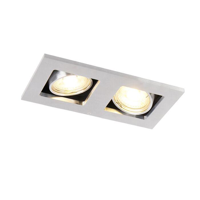 Pravokutni-ugradbeni-reflektor-2-lagani-aluminij---Qure