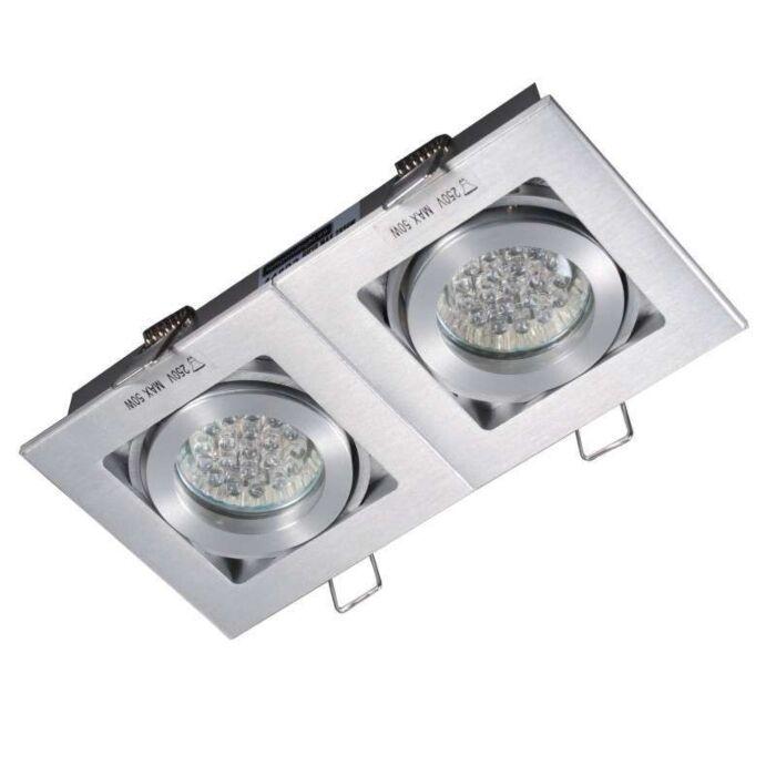Ugrađeni-spot-Quadro-2-aluminij