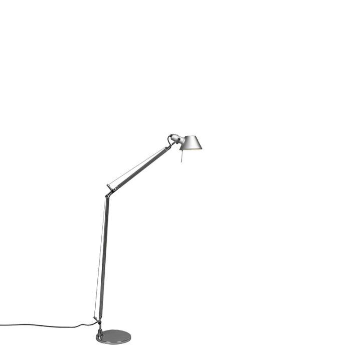 Podna-svjetiljka-Artemide-aluminijska-podesiva---Artemide-Tolomeo-Lettura