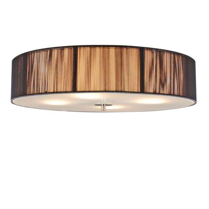 Klasična-stropna-svjetiljka-antracit-50-cm---Uže