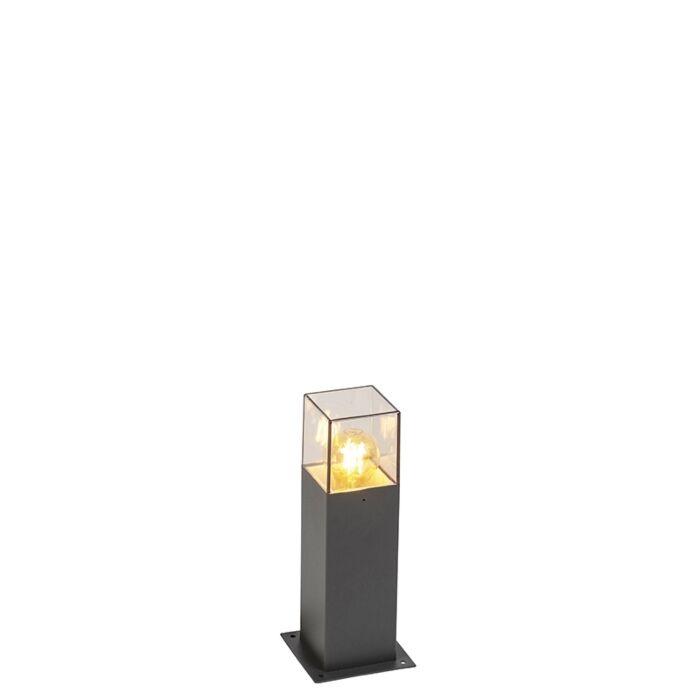 Moderna-stojeća-vanjska-svjetiljka-30-cm-antracit-IP44---Danska