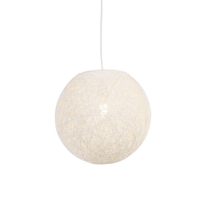 Country-viseća-svjetiljka-bijela-35-cm---Corda