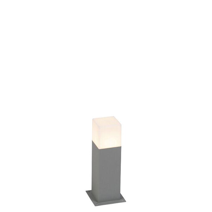 Moderna-vanjska-svjetiljka-30-cm-siva-IP44---Danska