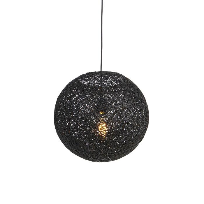 Viseća-svjetiljka-crna-35-cm---Corda