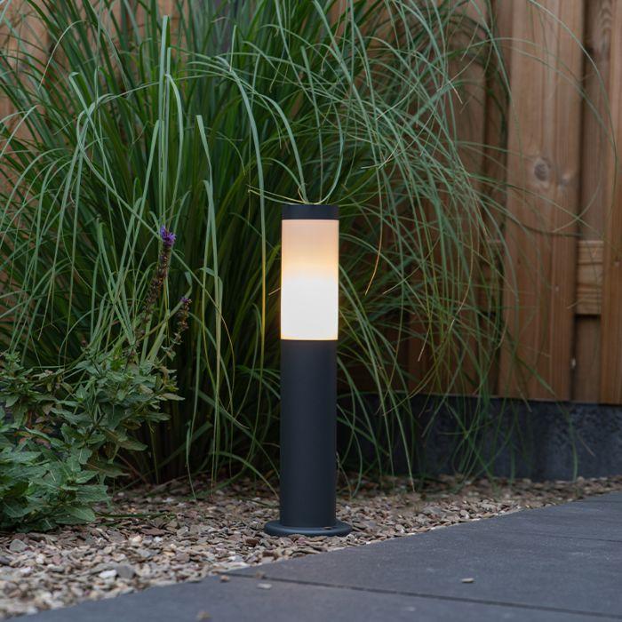 Stup-vanjske-svjetiljke-antracit-45-cm-IP44---Rox