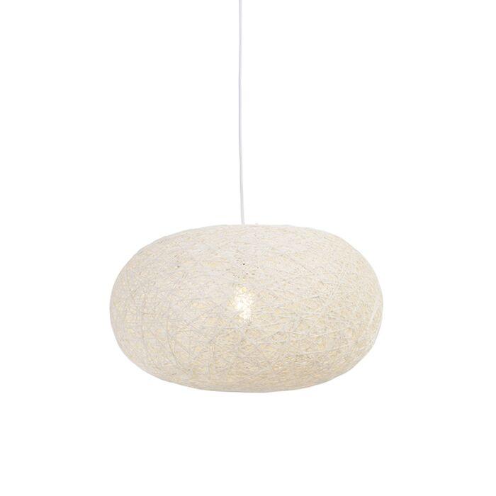 Country-svjetiljka-za-vješanje-bijela-50-cm---Corda-Flat
