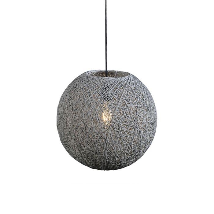 Country-svjetiljka-za-vješanje-siva-35-cm---Corda