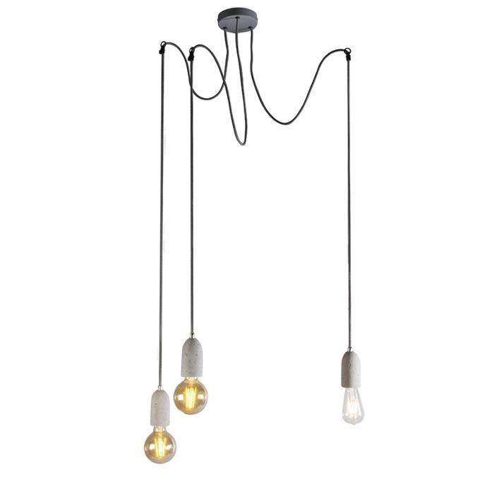 Industrijska-viseća-svjetiljka-sivi-beton---Cava-3
