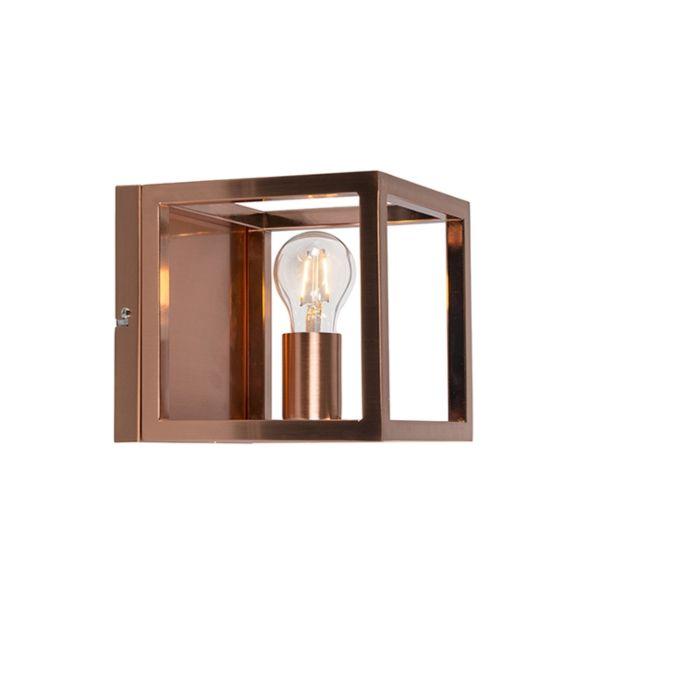 Zidna-svjetiljka-Kavez-1-bakrena-svjetiljka