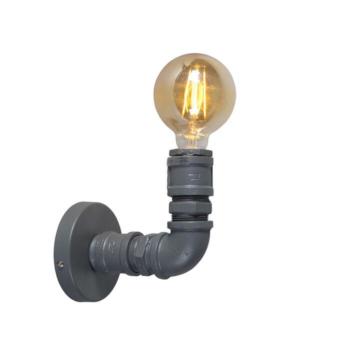 Industrijska-zidna-svjetiljka-tamno-siva---Vodoinstalater-1
