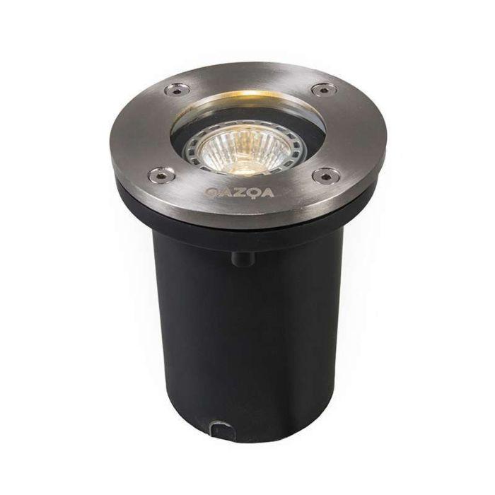 Komplet-od-6-vanjskih-spojeva-za-uzemljenje,-čelik-IP65,-uključujući-LED---Osnovni-okrugli