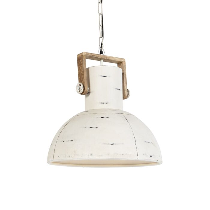 Industrijska-viseća-svjetiljka-bijela-s-drvetom-manga---Mango