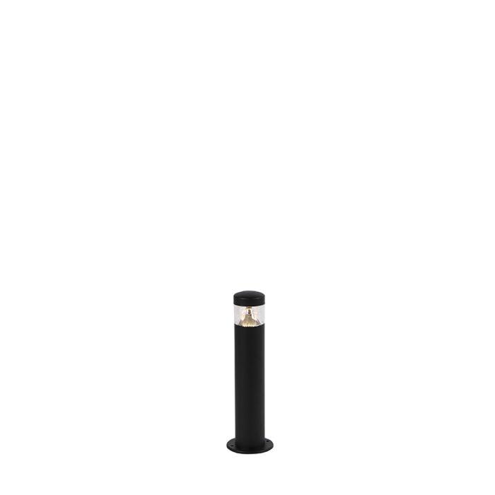 Moderna-vanjska-svjetiljka-crna-40-cm-IP44-sa-LED---Roxy