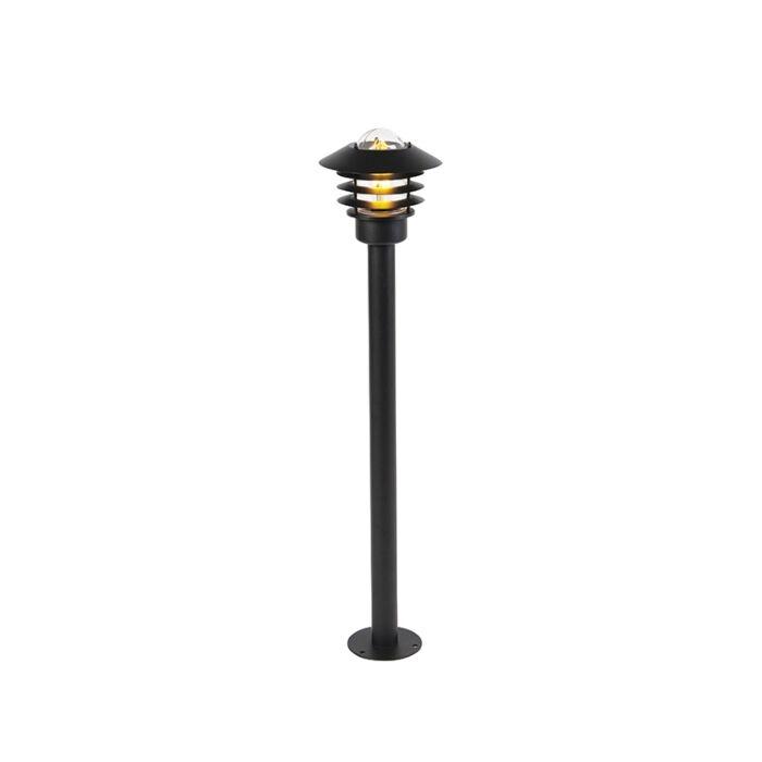 Moderna-vanjska-svjetiljka-crna-100-cm-IP44---Prato