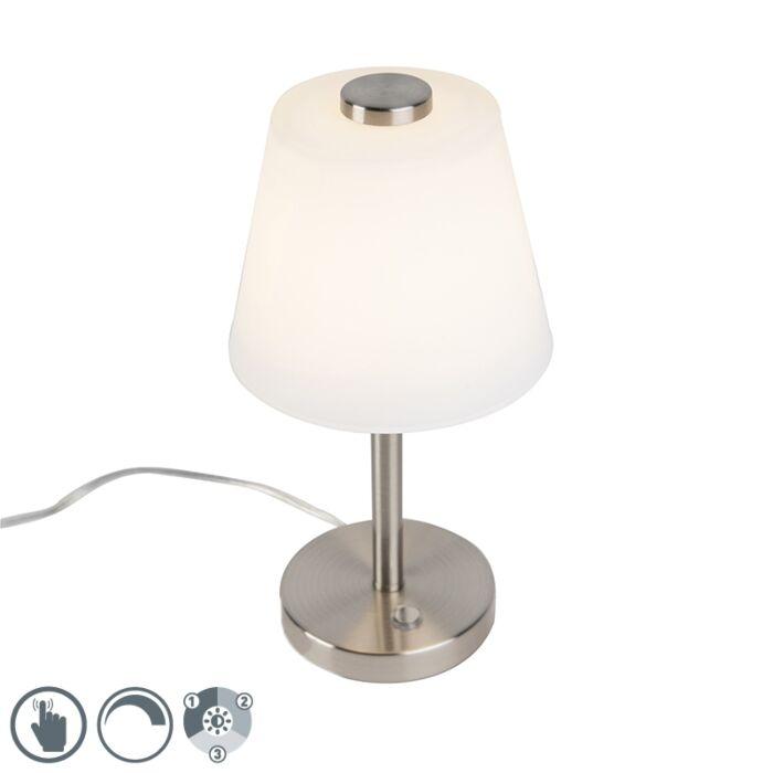 Dizajn-stolne-svjetiljke-od-čelika-sa-zatamnjivanjem,-uključujući-LED---Regno
