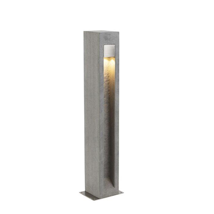 Moderna-stojeća-vanjska-svjetiljka-bazalt-70-cm---Sneezy