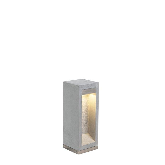 Moderna-vanjska-svjetiljka-bazalt-40-cm---Sneezy