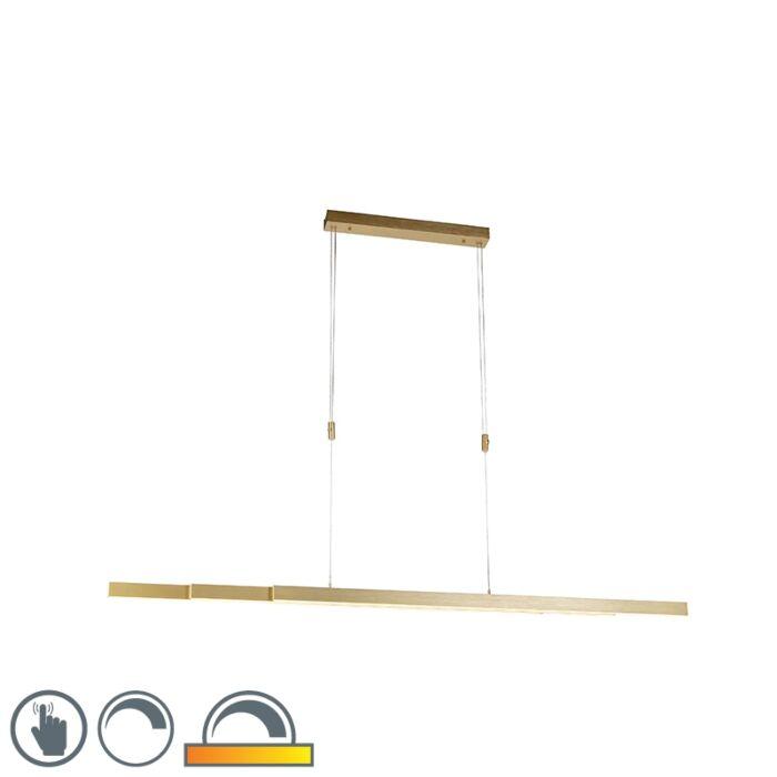Podesiva-mesingana-viseća-svjetiljka-prigušena-na-toplo-uključujući-LED---Juliet